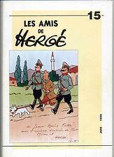 Les amis de Hergé  n°15 juin 1992 EO TL 1100 exp. n°