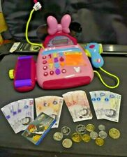 MICKEY / MINNIE MOUSE CLUBHOUSE - ELECTRONIC CASH REGISTER - NURSERY PLAY TOY