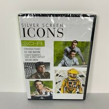 Silver Screen Icons: Sci-Fi DVD Soylent Green Forbidden Planet The Time Machine