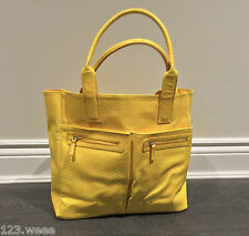 NEW Neiman Marcus Beauty Event Faux Leather Snakeskin Large Tote Bag