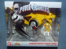 Power Rangers Legacy Zord & Figure - Sabertooth Tiger & Yellow Ranger - New