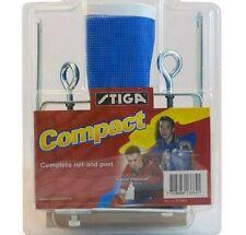 Stiga Compact Net & Post Table Tennis Set, Screw-On