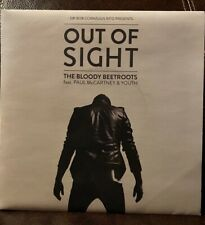 """Rare Paul McCartney Bloody Beetroots OUT OF SIGHT 7"""" 45 w/PS excellent"""