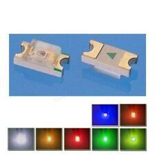 10 Stk. SMD 0603 grün leds,  0603G ogeled SMD green LEDs