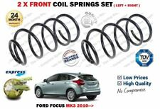 FOR FORD FOCUS 1.0 ECOBOOST 1.6 Ti 1.6 TDCI 2010-> 2X FRONT COIL SPRINGS SET