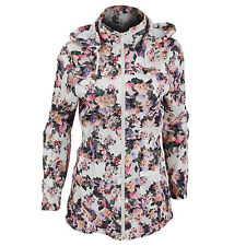 Zip Casual Polyester Raincoats for Women