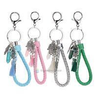 Dream Catcher Keyring Charm Pendant Purse Bag Key Ring Chain Car Keychain Gift