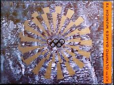 YAR NORTH YEMEN 1971 1479 A FOLDER GOLD Olympics 1972 München Munich MNH