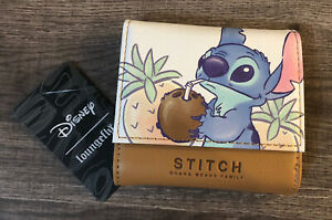 WOW! NEW WITH TAGS! Loungefly Disney Lilo And Stitch/Stitch Faux Leather Wallet!
