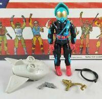 Original 1989 GI JOE TARGAT V1 ARAH Complete UNBROKEN figure Cobra TIGHT!