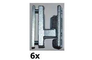6 x Set Bordwandscharnier (5,80€/Set) Anhängerscharnier Heckklappe   DMF-H-43-6