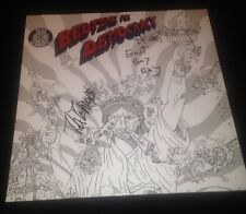 "THE DEAD KENNEDYS Signed ""Bedtime For Democracy"" Record Album LP RARE"