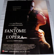 PHANTOM OF THE OPERA Gerard Butler Emmy Rossum Gaston Leroux LARGE French POSTER
