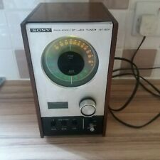 More details for vintage sony solid state st-80f  fm/ am stereo tuner  1960s made in japan