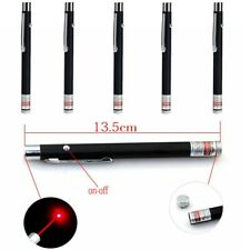 New listing 5Pcs 900 Miles 650nm Aaa Red Laser Pointer Pen Visible Beam Light Lazer Portable