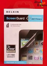 Belkin Screen Guard Schutzfolie Sichtschutzfolie Apple iPod touch 4th Generation