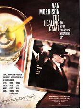 Vintage print Radio Music Promo Van Morrison Healing Game Fun Lovin' Criminals