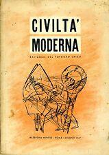 Civiltà Moderna. BATTAGLIE DEL PENSIERO LAICO. 1947. PERIODICO.