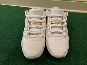 Nike Air Jordan XI 11 Low Gold size 10.5. White Gold Tan.  AQ0963-102.