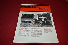 Case 2090 2290 Front Drive Tractor Dealers Brochure YABE8