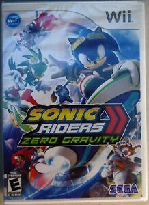 Sonic Riders: Zero Gravity (Nintendo Wii, 2008) Brand New Sealed