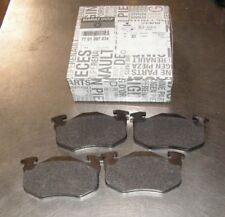 Renault Megane Clio Set Of Rear Brake Pads Part Number 7701207034 Genuine