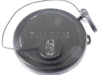 Used FUJIFILM 49mm Lens Front Cap Black sl'p-on type plastic with strap