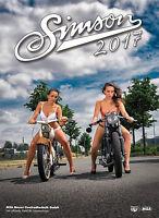 Kalender 2017 SIMSON Erotik Fotokalender, Farbdruck bedrucktem Karton 83042B17