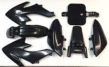 Bk Plastic Fender Body Work Fairing Kit For Honda CRF XR XR50 CRF50 Clone 125CC