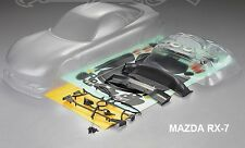 1:10 Lexan Body Karosserie Mazda Rx-7 190MM CLEAR