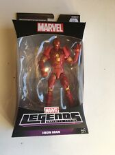 MARVEL LEGENDS GROOT SERIES IRON MAN FIGURE WITHOUT GROOT BAF PIECE