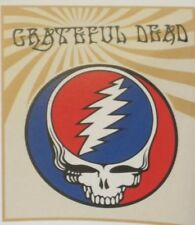 New Fuzzy Grateful Dead Steal Your Face Micro Plush Fleece Throw Gift Blanket