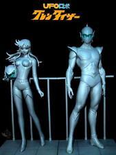 Goldorak Grendizer Goldrake Duke Fleed and Maria Grace Fleed - resin kit 1/8