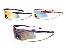 X Loop Sunglasses Mirror Sport Cycling Running Golfing Baseball Half Frame Men.