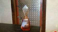 antique perfume bottle with cut glass stopper