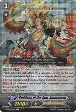 1x Cardfight!! Vanguard Goddess of the Sun, Amaterasu - BT09/003EN - RRR MP
