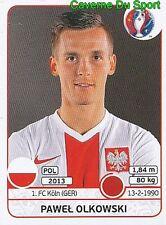 300 PAWEL OLKOWSKI POLSKA POLAND FC.KOLN STICKER EURO 2016 PANINI