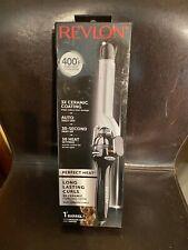 "*💋*NEW Revlon Salon Long Lasting Curls 1"" Tourmaline Ceramic Curling Iron 400*F"