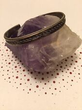 Vintage Navajo Tahe 925 Sterling Silver Cuff Bracelet