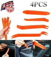 4x Car trim Removal Tool Kit Door Clip Panel Body stereo Audio Radio Pry tools