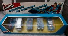 Batman Superman batmobile corgi 5 Voiture Set 2 Junior Vintage Superheroes 3114