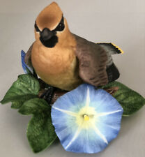 Cedar Waxwing From The Lennox garden bird collection 1994 With Certificates