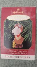 Famous Flying Ace Spotlight on Snoopy Collector'S Series Ornament by Hallmark