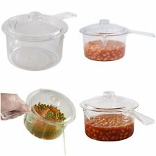 Microwave Cooker Steamer Non Stick Steam Cooker Kitchen Cooking Pot with Lid New