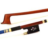 1PC Pernambuco 4/4 Violin Bow Pro Master Violin Bow Ebony Golden Parts Sale 50%