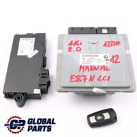 BMW E81 E87 LCI Petrol N43 116i 2.0 122HP ECU Kit 7599881 DME CAS3 Key Manual