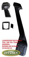 Land Rover Defender RAI Snorkel fits 1994>  300Tdi / TD5 / PUMA VC34LR - 0110