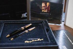 Montblanc Meisterstuck MOZART Set 116, 117, Box CD Pen Pencil