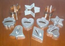 New listing 10 Pieces Metal Cookie Cutters (Assorted Sizes)