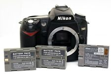 Nikon D90 12.3MP DX Digital SLR Body Only - WORKS & Takes Pictures, AS-IS